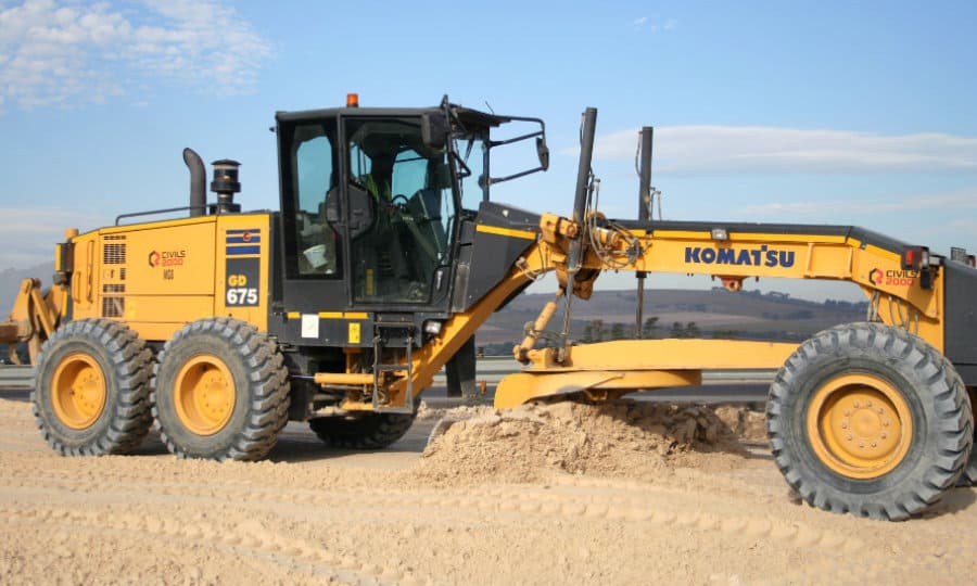 Plant hire by Civil engineering and building construction specialists